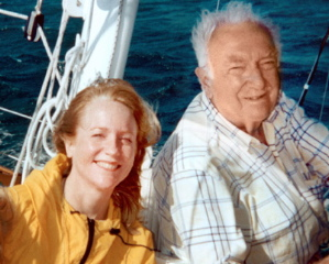 Martha Shaw and Walter Cronkite